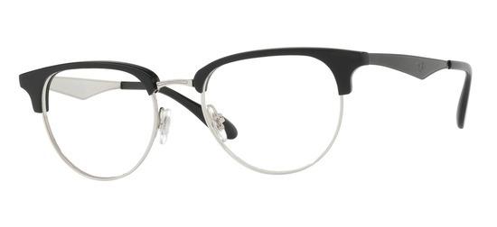 lunettes de vue Ray-Ban RX6396-2932 Noir argent