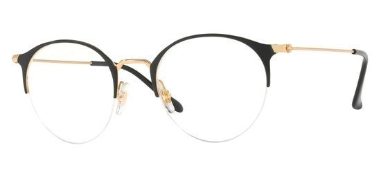 lunettes de vue Ray-Ban RX3578V-2890 Noir Or