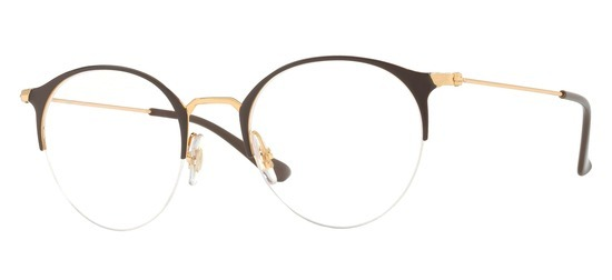 lunettes de vue Ray-Ban RX3578V-2905 Marron Or