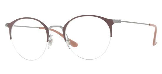 lunettes de vue Ray-Ban RX3578V-2907 Marron Gun
