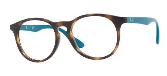 lunettes de vue Ray-Ban RY1554-3728 Ecaille Bleu
