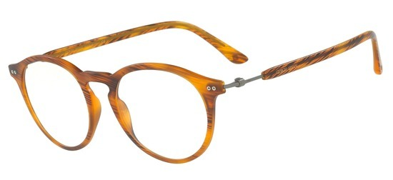 lunettes de vue Giorgio Armani AR7040-5585 Marron miel