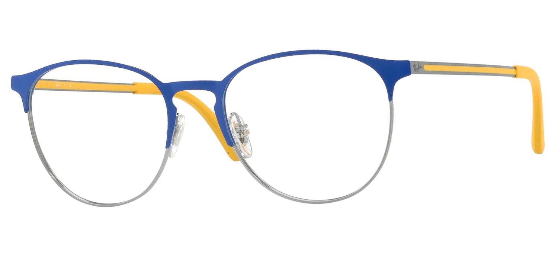 207d09e419 lunettes de vue RX6375 2950 Bleu Gun acier Ray Ban