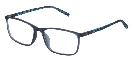 lunettes de vue Police VPL255-092E Bleu camouflage bleu