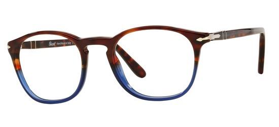 lunettes de vue Persol PO3007V-1022 Havane Bleu PROMO T50