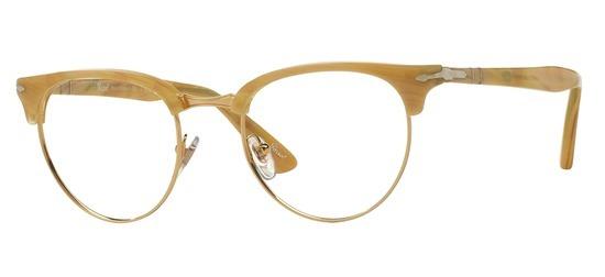 lunettes de vue Persol PO8129V-1046 Corne clair