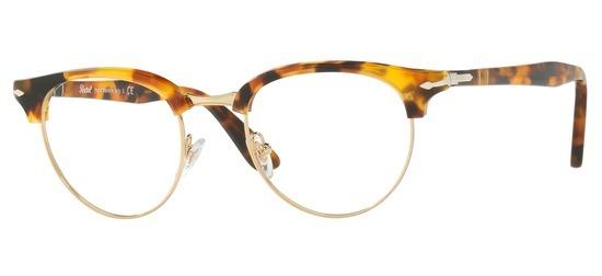 lunettes de vue Persol PO8129V-1052 Ecaille miel