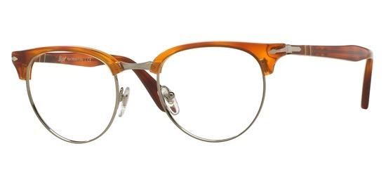 lunettes de vue Persol PO8129V-96 Havane clair