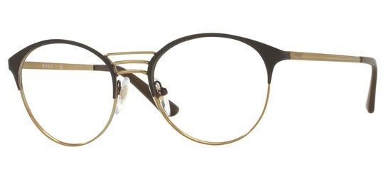 lunettes de vue Vogue VO4043-997 Marron Or pale