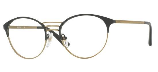 lunettes de vue Vogue VO4043-999 Anthracite Or pale