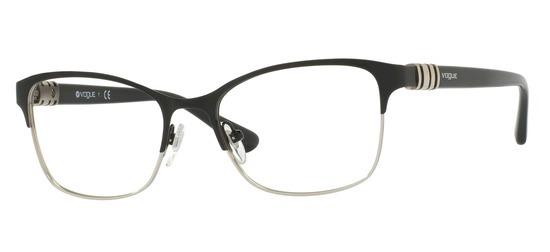 lunettes de vue Vogue VO4050-352 Noir Argent