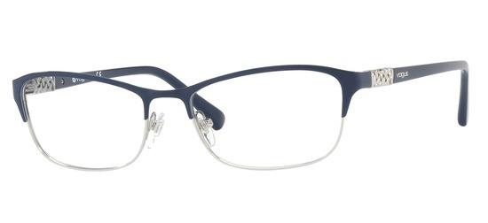 lunettes de vue Vogue VO4057B-5051 Bleu Argent
