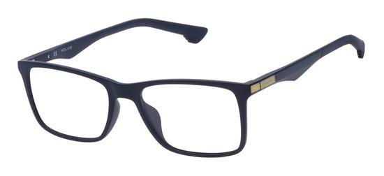 lunettes de vue Police VPL638-09NQ Bleu Mat