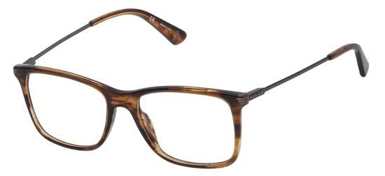 lunettes de vue Police VPL563-06HN Marron Marbre