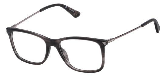 lunettes de vue Police VPL563-6BZM Gris Mat