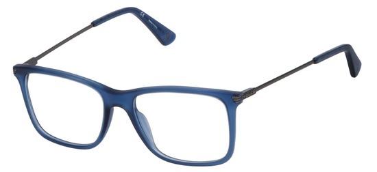 lunettes de vue Police VPL563-955M Bleu Mat