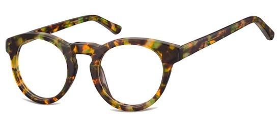 lunettes de vue ExperOptic Harvard Ecaille Miel