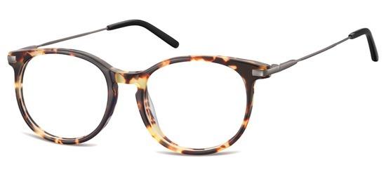 lunettes de vue ExperOptic Uclah Ecaille Beige