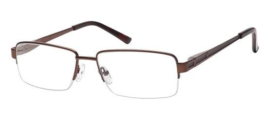 lunettes de vue ExperOptic Londres Marron Noir
