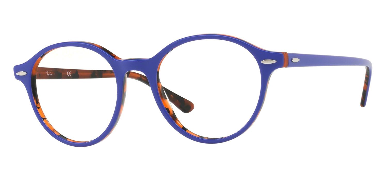 Orange De Vue Ecaille Ray Ban Lunettes Violet Rx7118 5716 ZilOkXPuwT