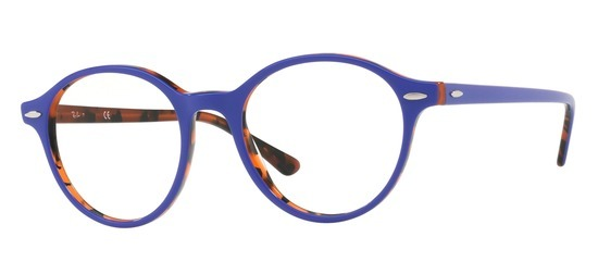 Ray-Ban RX7118-5716 Violet Ecaille Orange