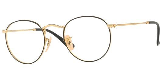 lunettes de vue Ray-Ban RX3447V-2991 Or et Noir