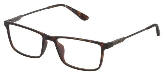 lunettes de vue Police VPL696-0878 Havane Mat
