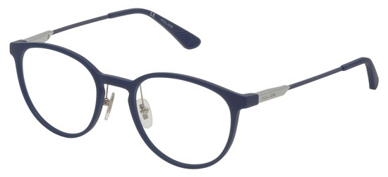 lunettes de vue Police VPL695-0R22 Bleu Mat