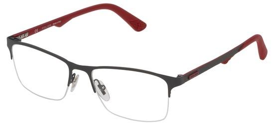 lunettes de vue Police VPL693-0180 Gun Rouge Carbone