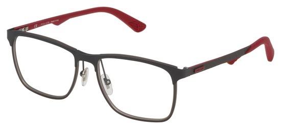 lunettes de vue Police VPL692-0180 Gun Rouge Carbone
