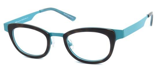 lunettes de vue ExperOptic Rubelle Bleu Ecaille