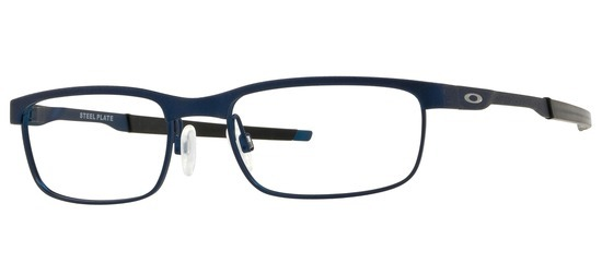 lunettes de vue Oakley OX3222-03 Steel Plate Bleu nuit