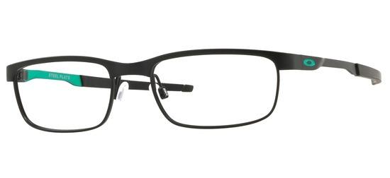 lunettes de vue Oakley OX3222-06 Steel Plate Noir