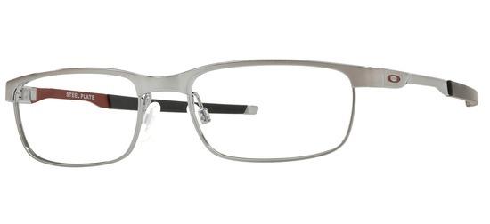 lunettes de vue Oakley OX3222-07 Steel Plate Argent
