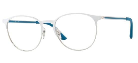 lunettes de vue Ray-Ban RX6375-2948 Blanc Argent PROMO T53