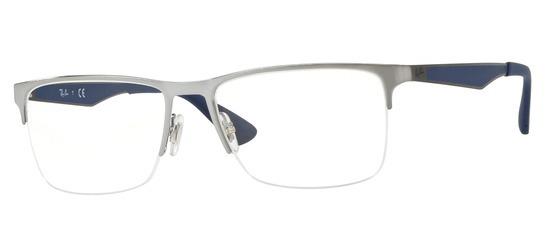 lunettes de vue Ray-Ban RX6335-3012 Gun clair