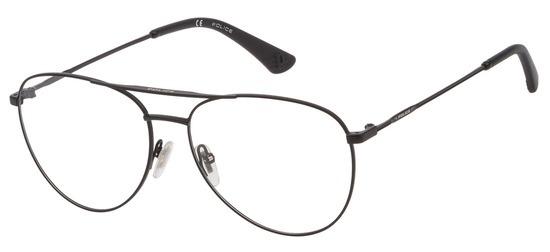 lunettes de vue Police VPL793-0531 Noir Satin Highway 11