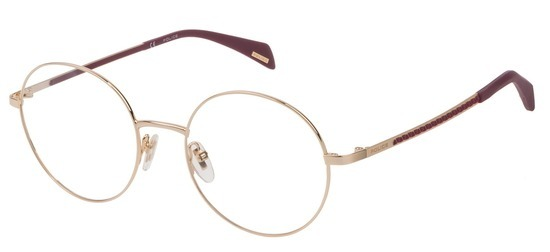 lunettes de vue Police VPL841-0300 Or Rose Donna Penrose 2