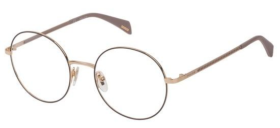 lunettes de vue Police VPL841-0307 Or Rose Filet Gris Donna Penrose 2
