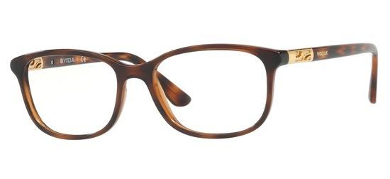 lunettes de vue Vogue VO5163-2386 Havane marron