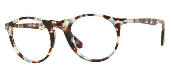 lunettes de vue Persol PO3201V-1058 Ecaille Bleue