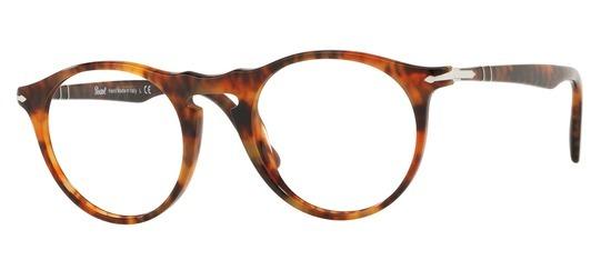 lunettes de vue Persol PO3201V-108 Ecaille Cafe