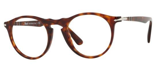 lunettes de vue Persol PO3201V-24 Ecaille Havane