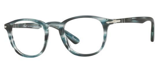 lunettes de vue Persol PO3143V-1051 Gris fume
