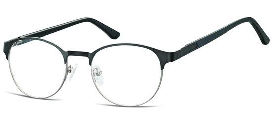 lunettes de vue ExperOptic Glamm Noir Argent