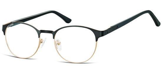 lunettes de vue ExperOptic Glamm Noir Or