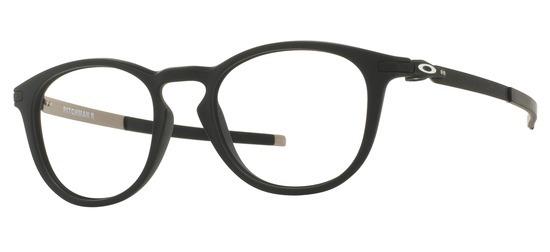 lunettes de vue Oakley OX8105-01 Pitchman Noir Satin