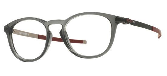 lunettes de vue Oakley OX8105-02 Pitchman Gris fume