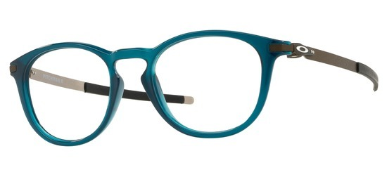 lunettes de vue Oakley OX8105-08 Pitchman Bleu Nuit