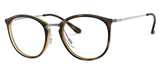 lunettes de vue Ray-Ban RX7140-2012 Ecaille Gun